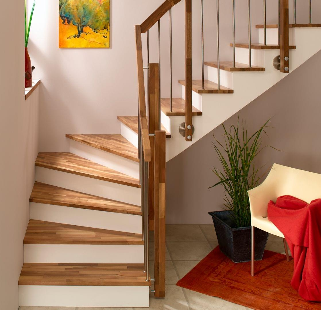 treppen stufenbelag system treppenmeister. Black Bedroom Furniture Sets. Home Design Ideas