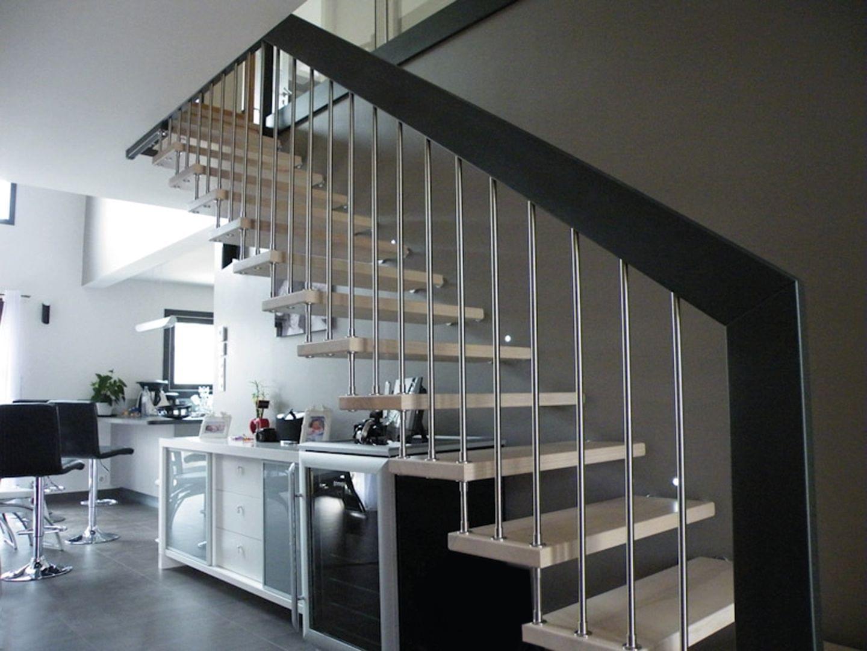 Escalier intérieur en bois modèle Viva TREPPENMEISTER