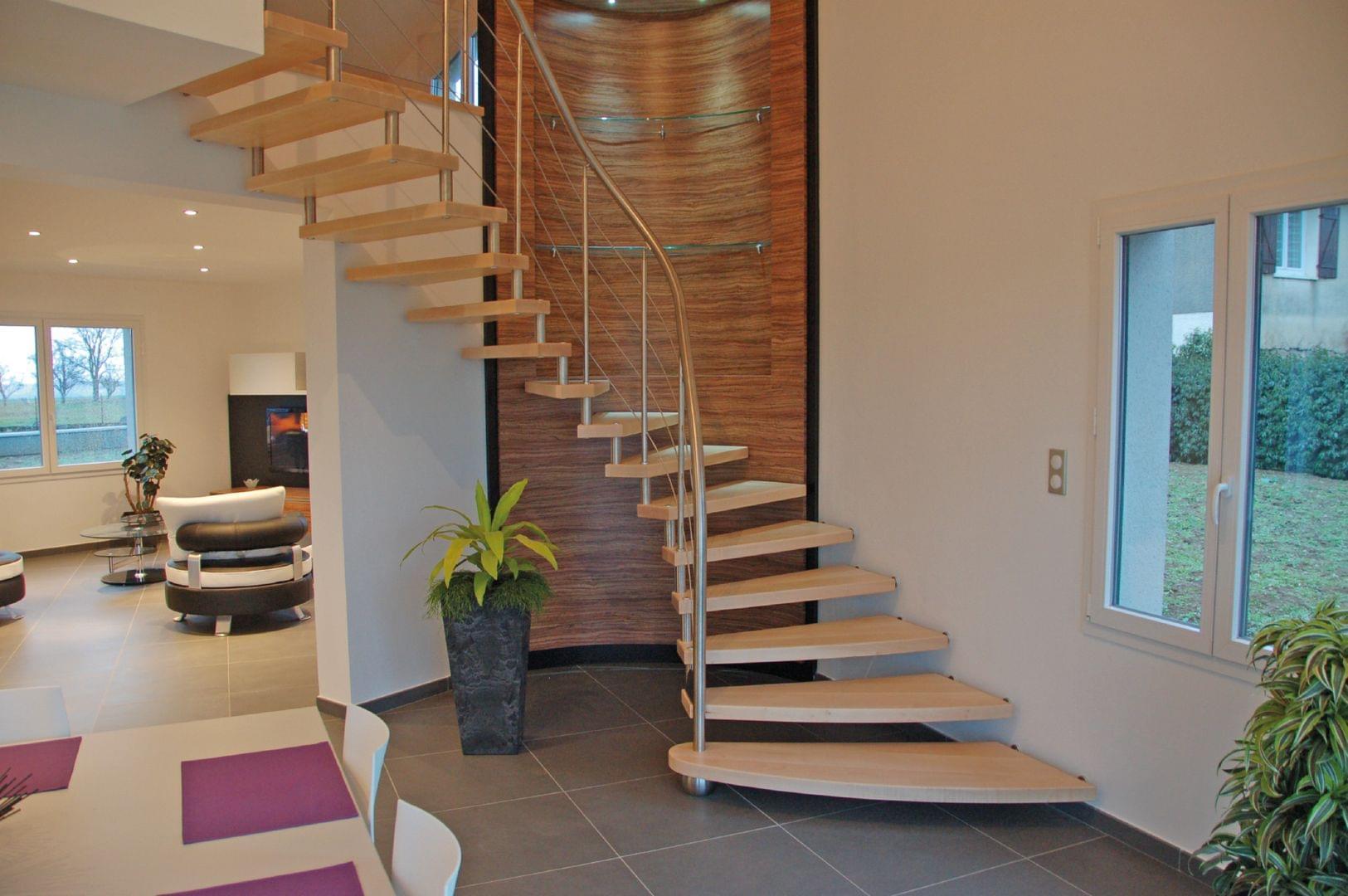 Escalier moderne modèle Epura de Treppenmeister TREPPENMEISTER