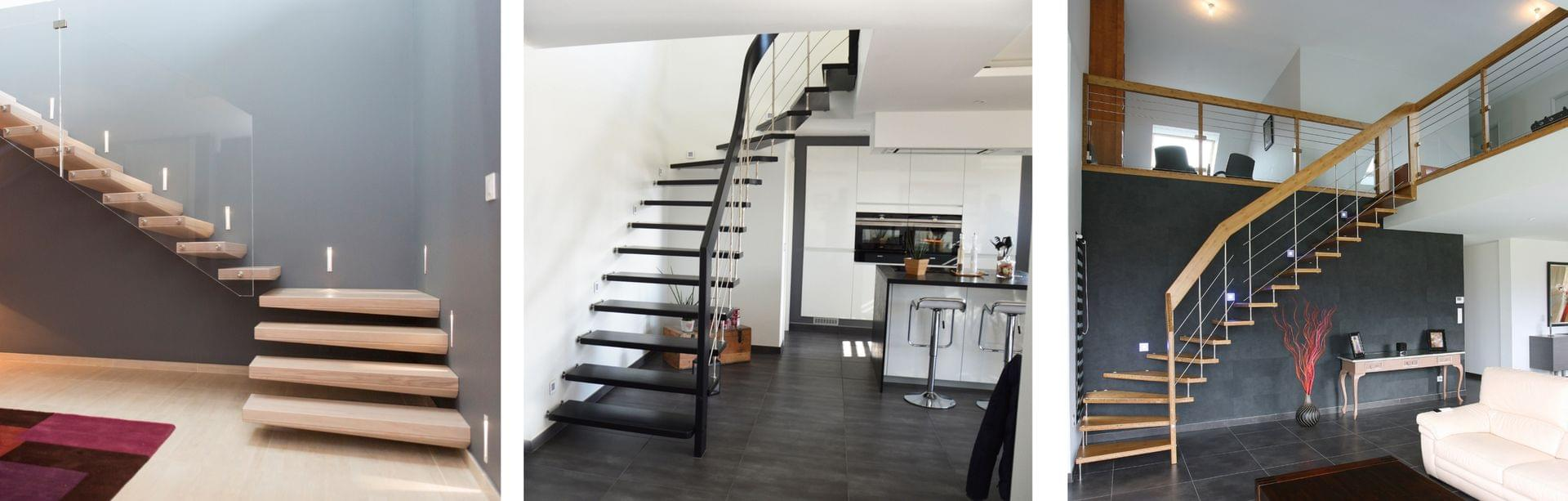 Escaliers bois et Escaliers bois-métal de qualité ...