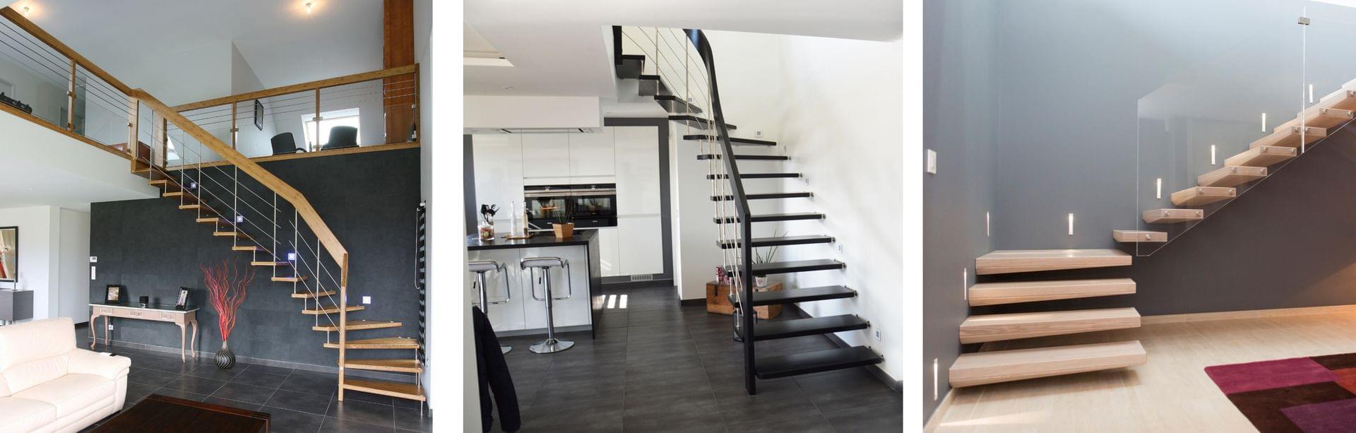 Escaliers bois et Escaliers bois-métal de qualité   TREPPENMEISTER